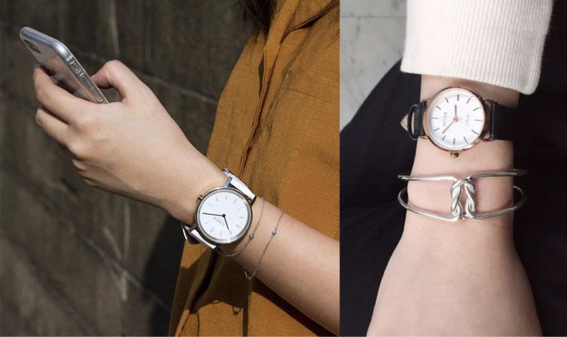 IR純銀手環、手鍊穿搭示意圖